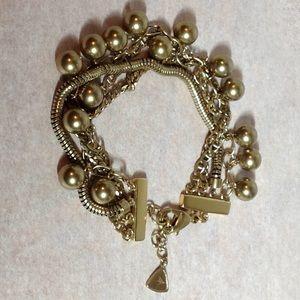 SILPADA New multi CHACHA 4 strand bracelet-brass